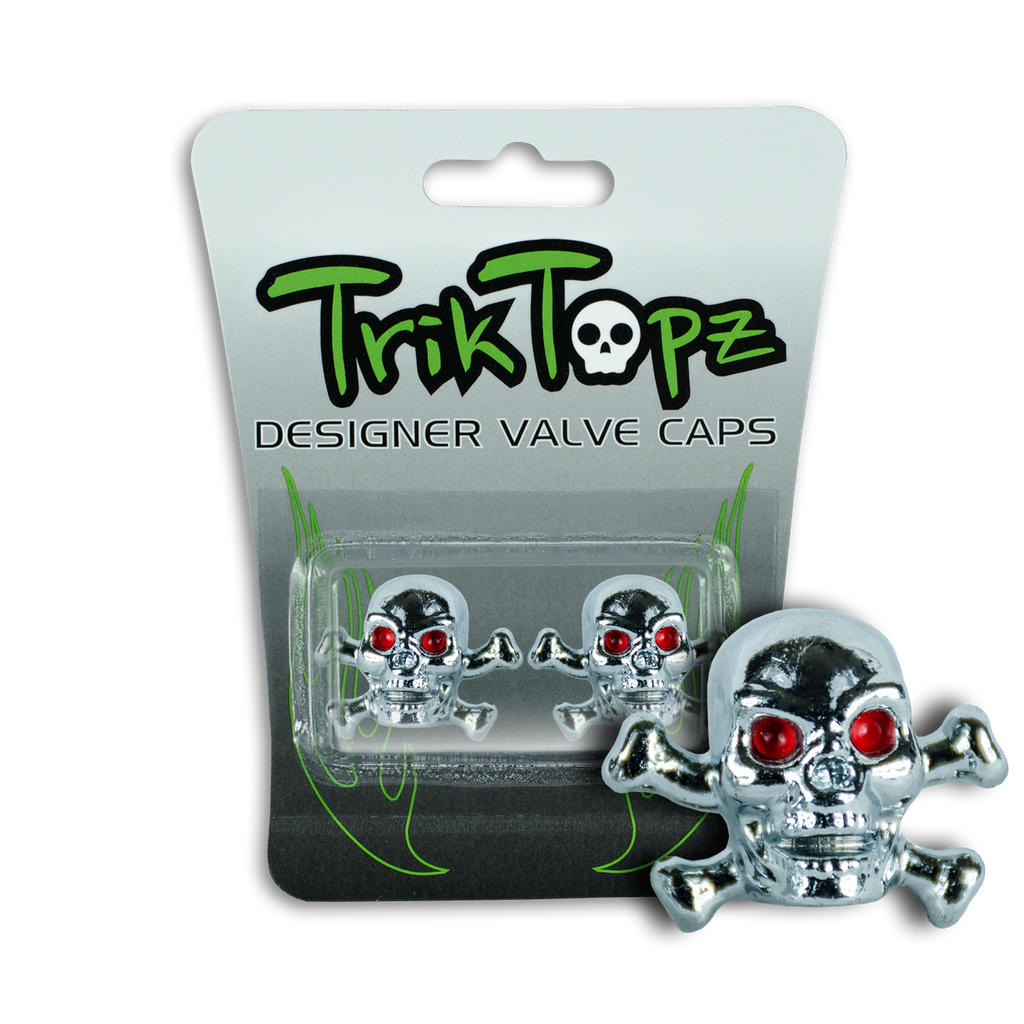 Skull & Bones Chrome (2 Pack)-Item #8637