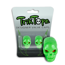 Load image into Gallery viewer, Skull Head Green (2 Pack)-Item #8639