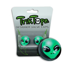 Load image into Gallery viewer, Alien Valve Cap Green (2 Pack)