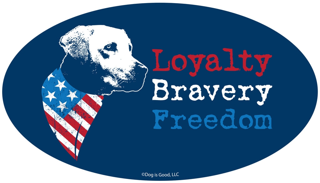 Loyalty, Bravery, Freedom-Item #3963