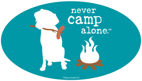 Never Camp Alone Emblem