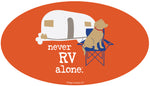 Never RV Alone Emblem