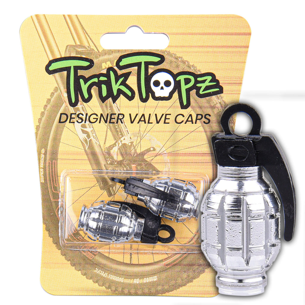 Hand Grenade Chrome (2 pack)-Item #8797