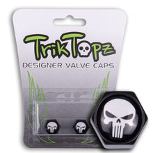 Load image into Gallery viewer, Block Shape Skull Head-Black/White(2 pack)-Item #8796