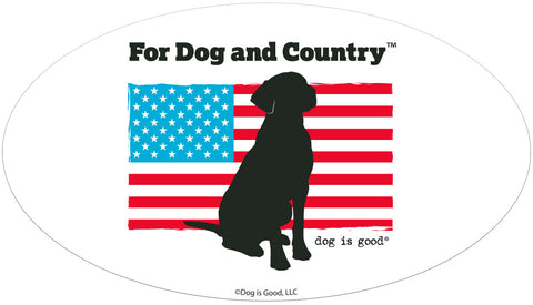 For Dog and Country Emblem