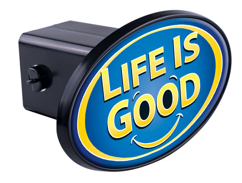 Life Is Good Hitch Cover