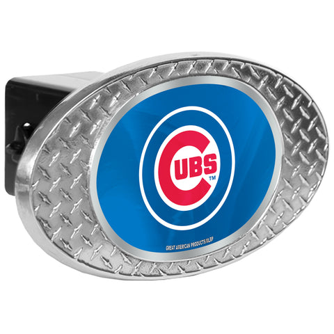 Chicago Cubs Zinc Hitch Cover