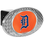 Detroit Tigers Zinc Hitch Cover