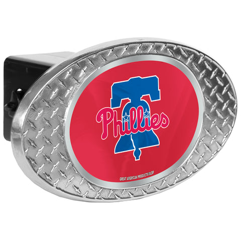 Philadelphia Phillies Zinc Hitch Cover