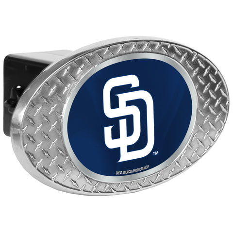 San Diego Padres Zinc Hitch Cover