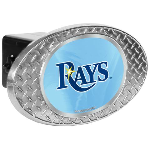 Tampa Bay Rays Zinc Hitch Cover