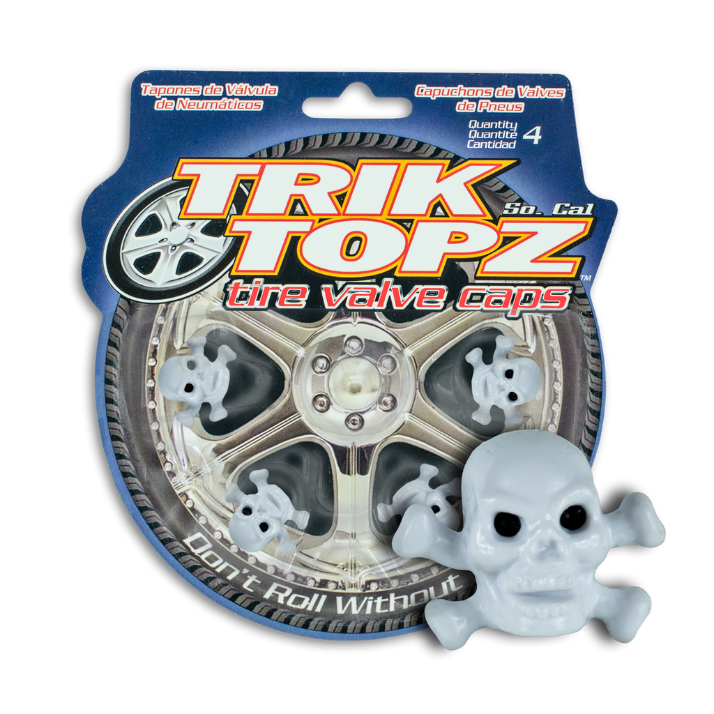 Skull & Bones White (4 Pack)-Item #8036