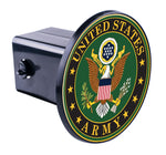 United States Army Round Hitch Cover