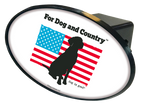 For Dog and Country Hitch Cover