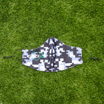 Face Mask - Limited Edition Grey Pixel Camo