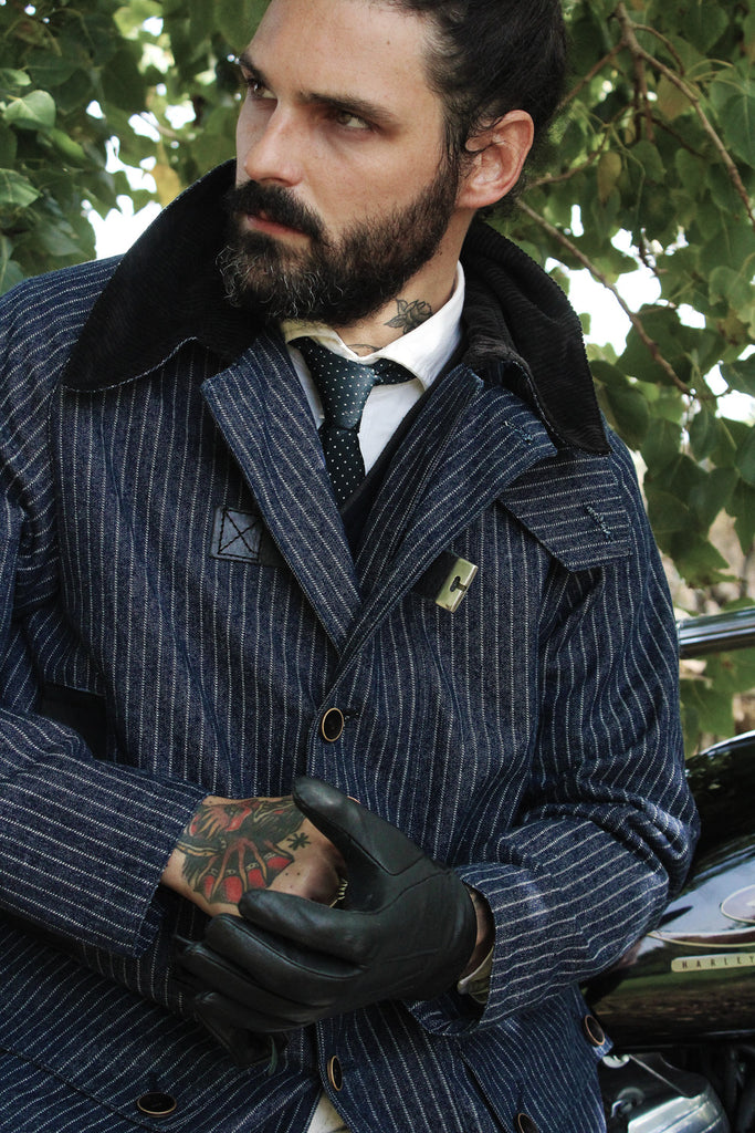 TheConcrete x El Solitario M.C. // `Never Work´tailor-made jacket