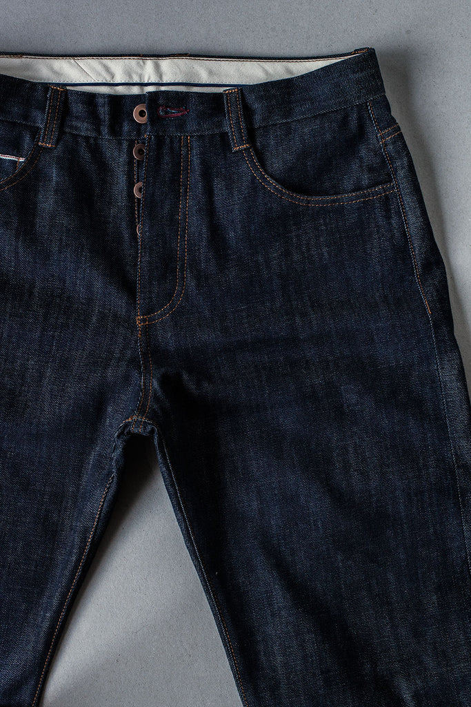 5 Bolsillos TC02 Slim // Japan Indigo Selvedge Denim 14 oz.