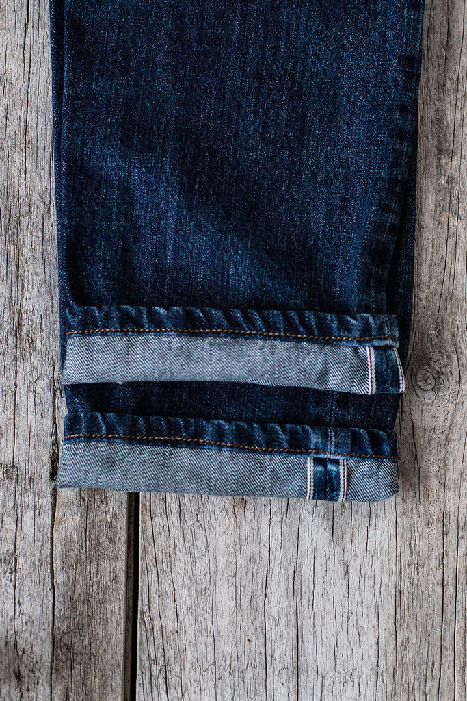 5 bolsillos Slim Fit // Japanese Indigo Selvedge 14 oz. Lavado