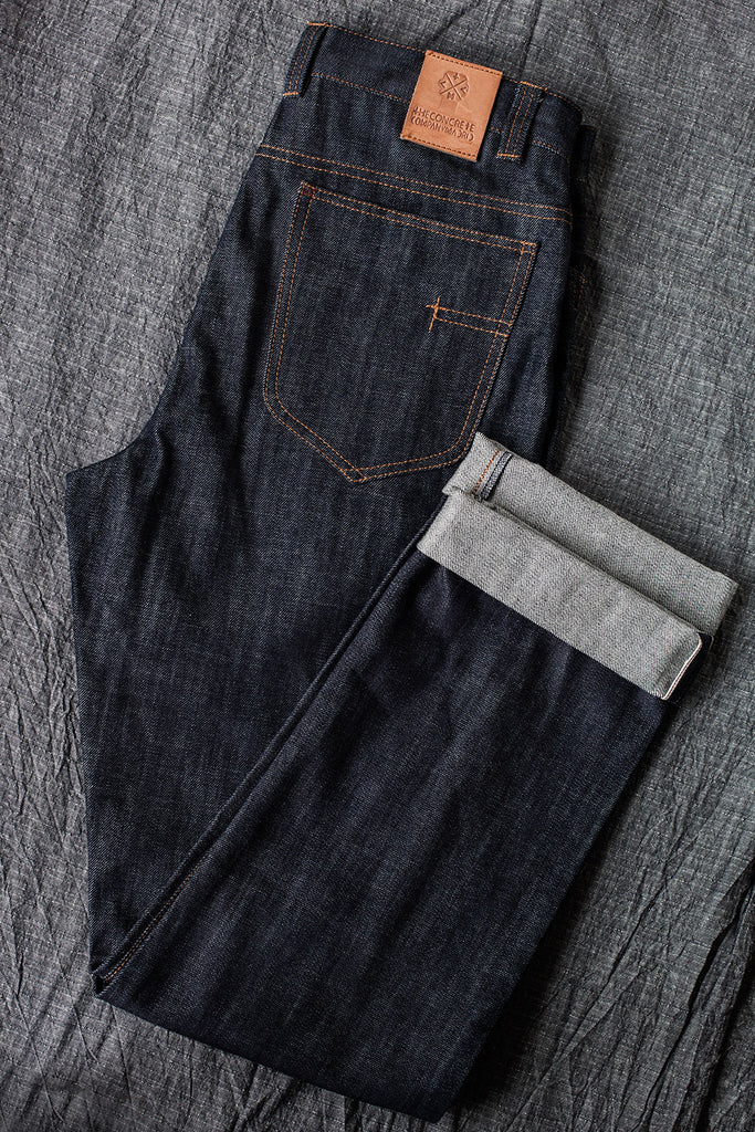 5 bolsillos TC01 // Japanese Indigo Selvedge denim 14 oz.