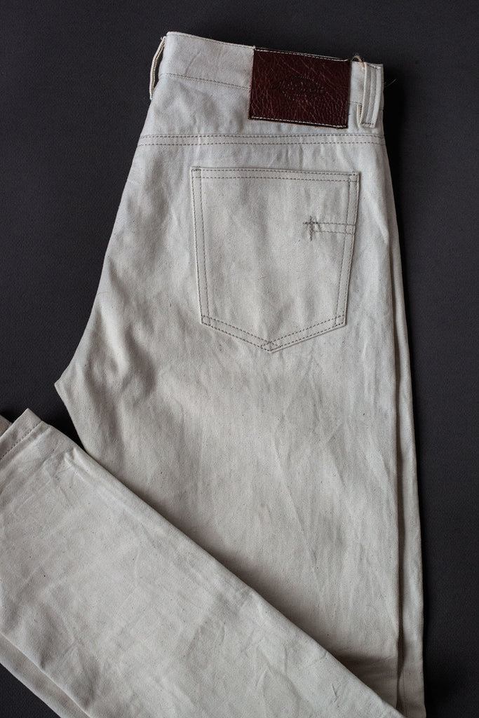 "5 bolsillos TC04 ""Boyfriend"" // Denim 10 oz.  crudo natural"