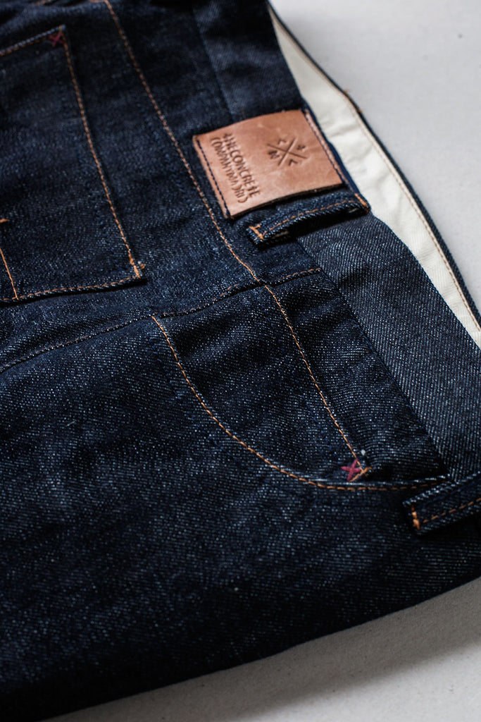 5 Bolsillos Tapered Slim // Japan Indigo Selvedge Denim 14 oz.