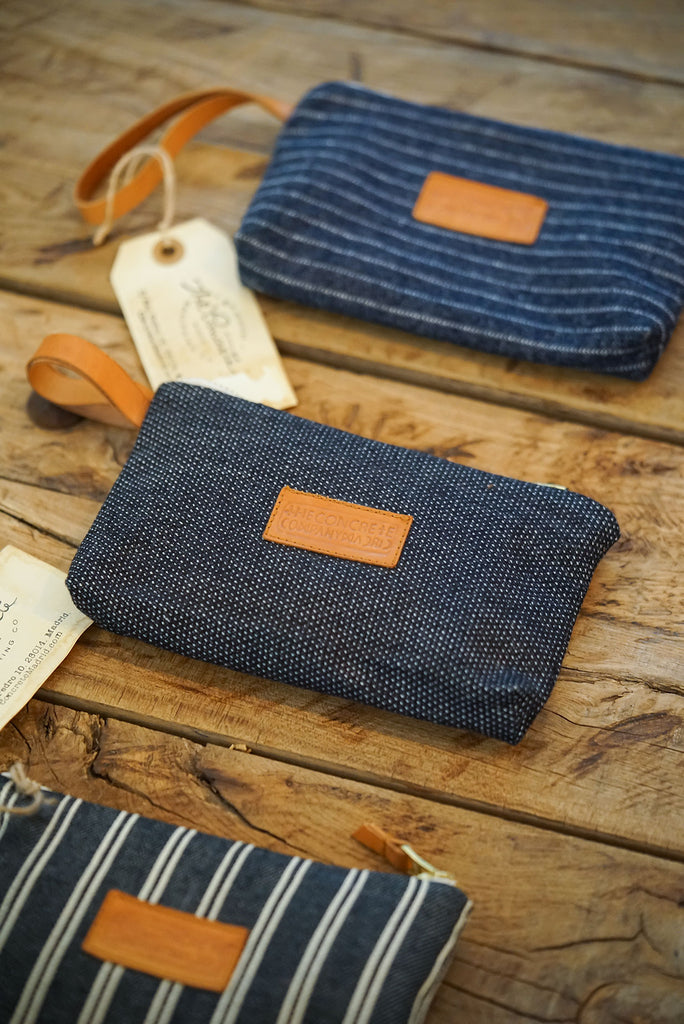 Cartera // Denim Indigo Japonés