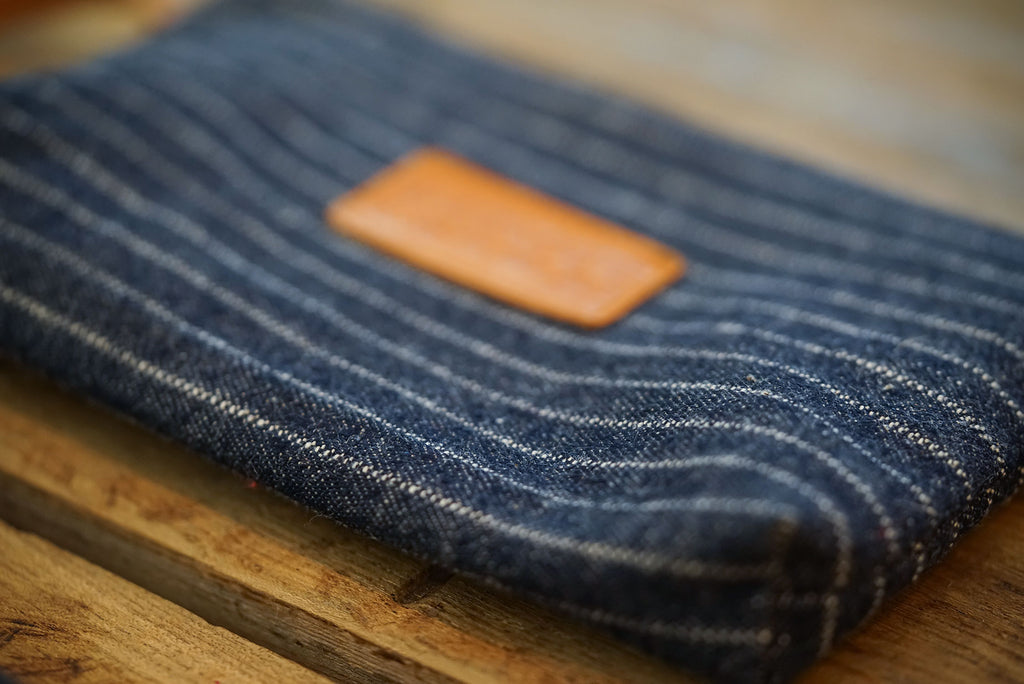Cartera // Indigo Pinstripe Denim