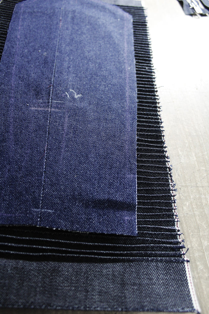 Chaqueta Leisure // The Concrete X Valtorøn #02 // 14 oz. Indigo Selvedge denim