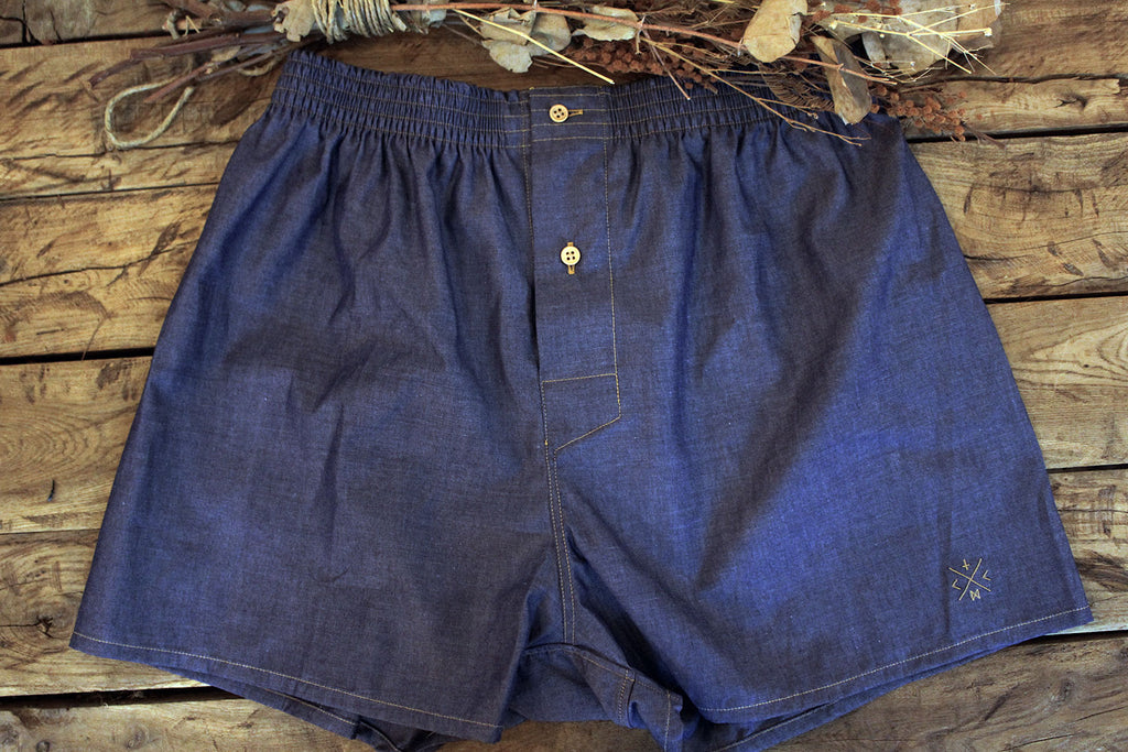 Boxer // Chambray Italiano