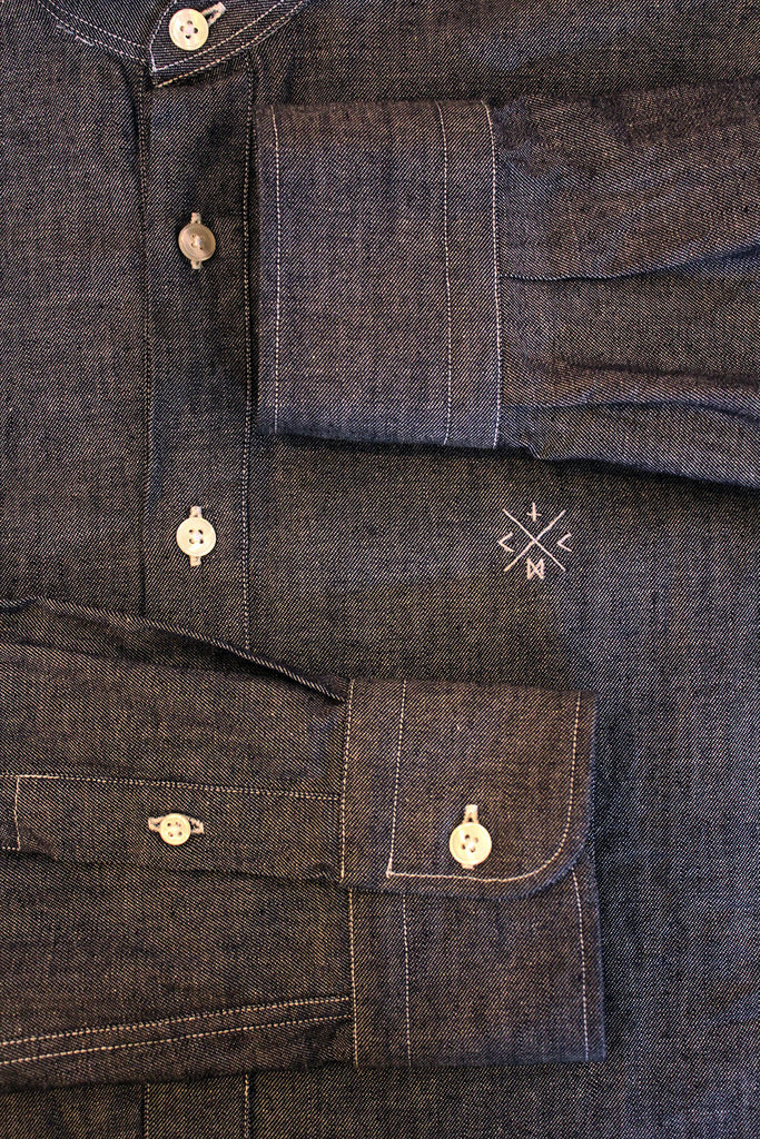 Camisa Polera // Denim 4,5 oz.
