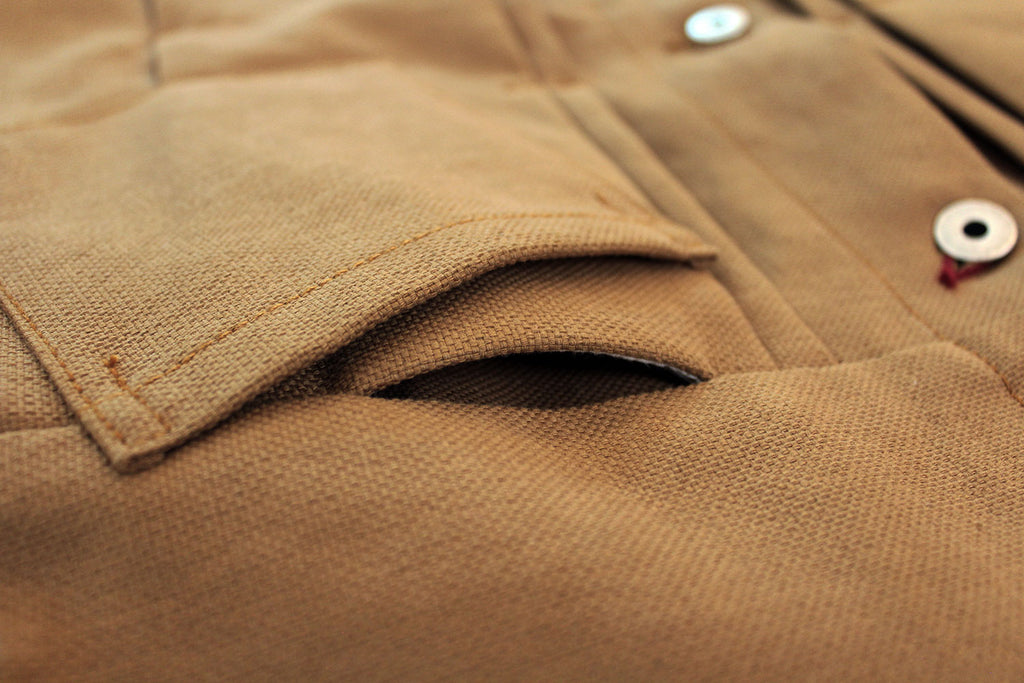 Chaqueta Trucker V.I // 14 oz. Duck Canvas Japonés