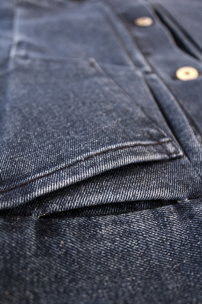 Chaqueta Trucker V.I // 12 oz. Denim Reciclado Stone washed