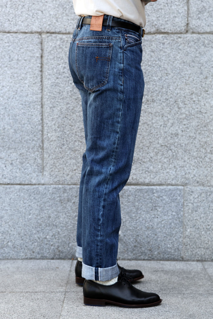 5 bolsillos TC01 // Washed 14 oz. Selvedge Denim