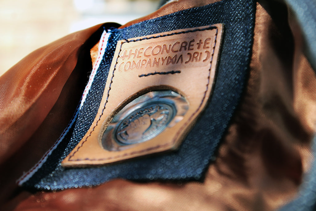 Chaqueta Leisure // The Concrete X Valtorøn #02 // 11 oz. Hunter green dead stock denim
