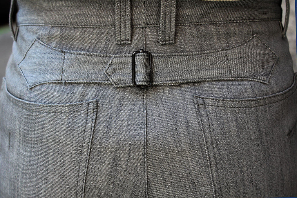 Pantalón Duty Special // 10 oz. Selvedge Denim Gris