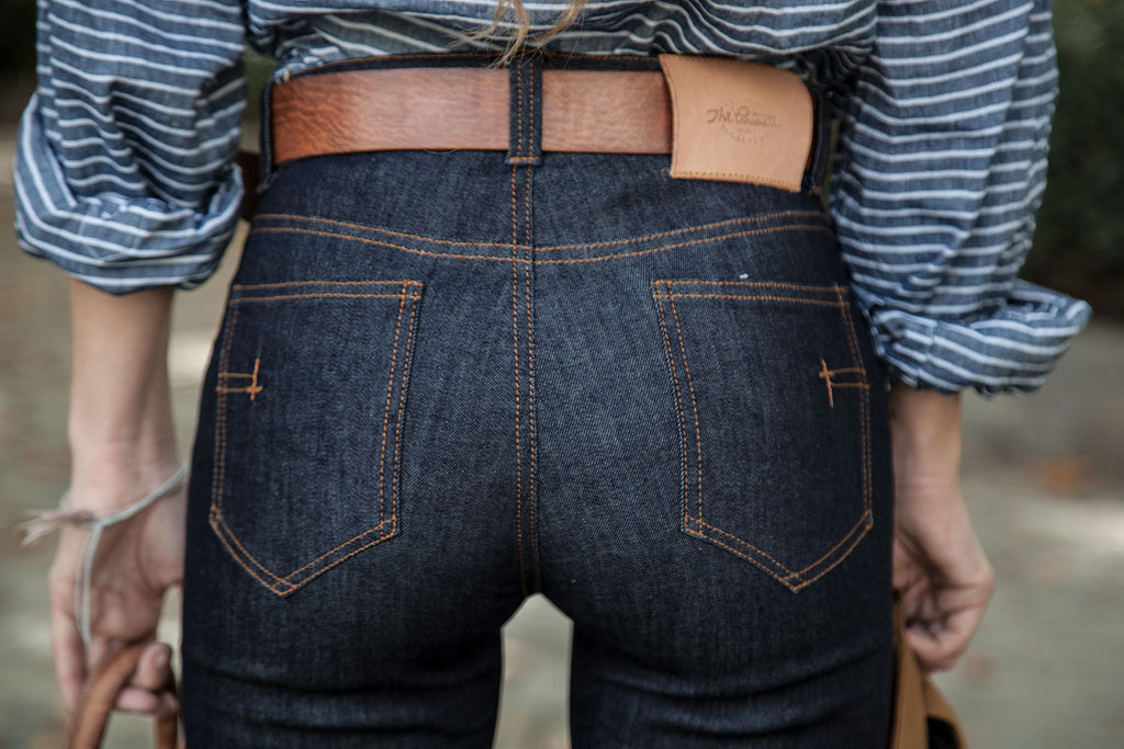 "5 Bolsillos ""El vaquero Perfecto"" // Indigo Denim stretch 11 oz."