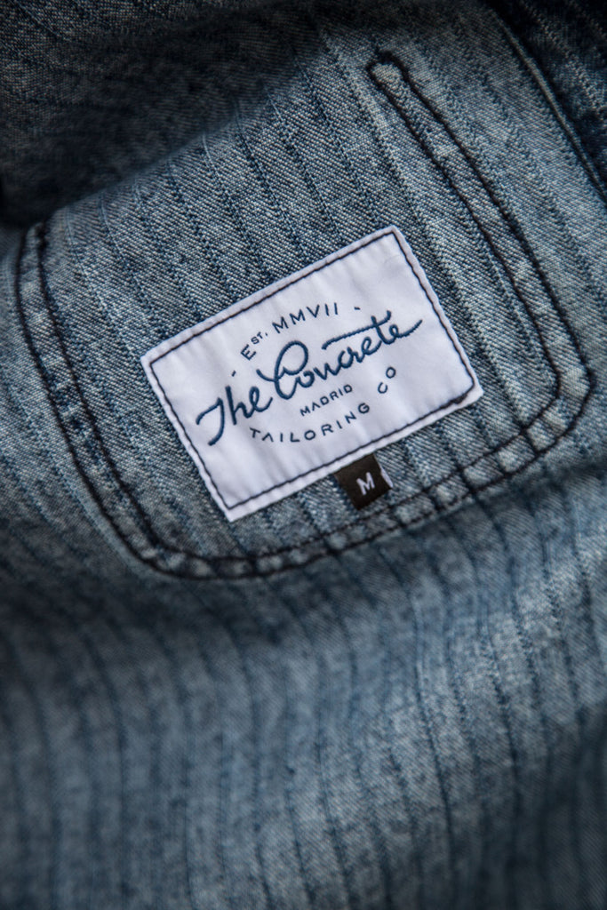 Chaqueta Raglan Work // 14 oz. Denim Spain