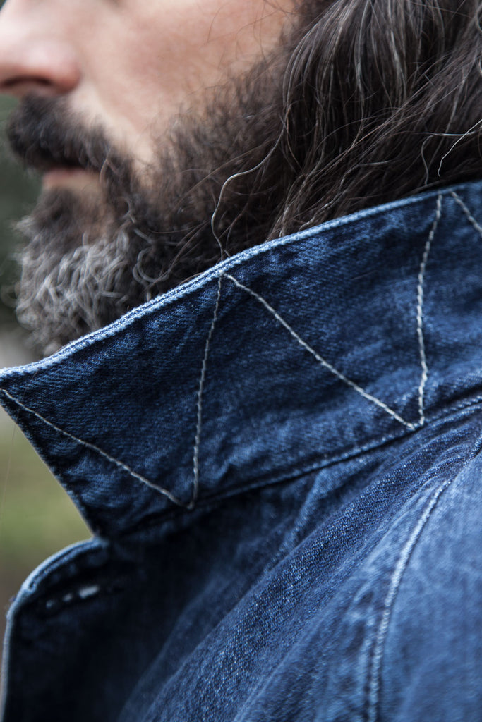 Chaqueta Raglan Work // 14 oz. Denim Selvedge Japan