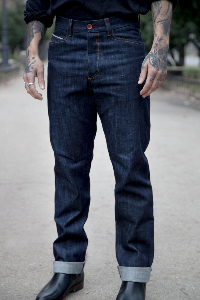 5 bolsillos Tailored // 14 oz.Selvedge Japan denim