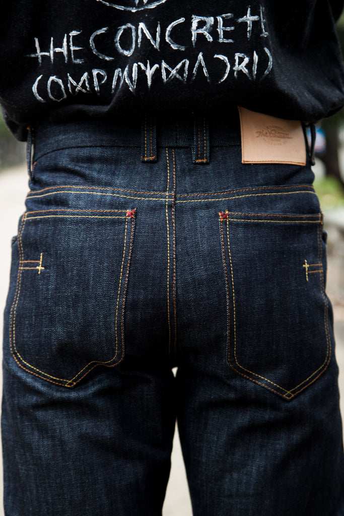 "5 bolsillos TC01 ""Tailored"" // 14 oz.Selvedge Japan denim"