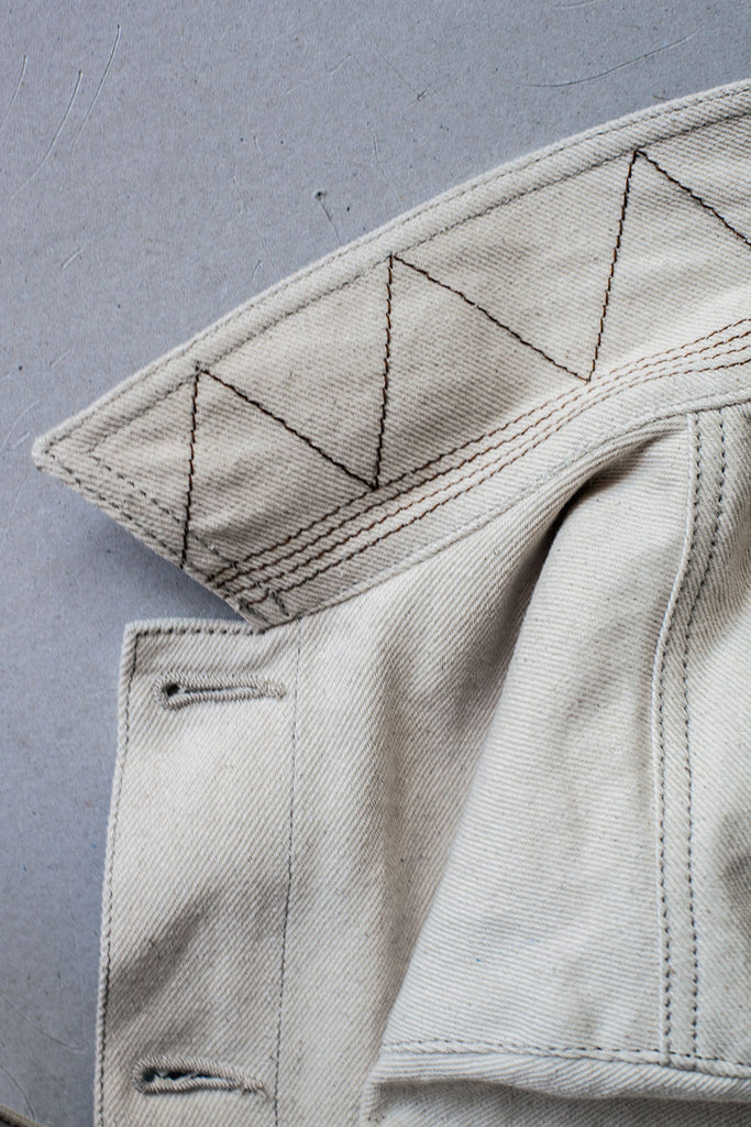 Chaqueta Labor // Denim Natural 12 oz.