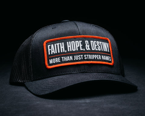 Image of Stripper Name Hat-Black