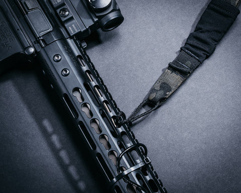 Black Multicam Adjustable Sling