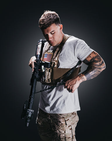 Image of Black Multicam Adjustable Sling