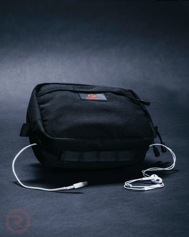 Image of Black Vortex Bar Bag