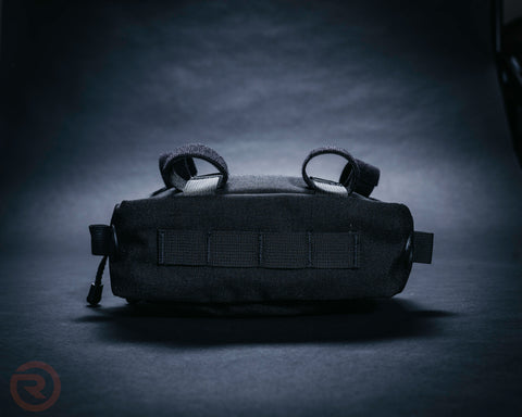 Black Vortex Bar Bag