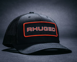 Rhuged Hat-Black