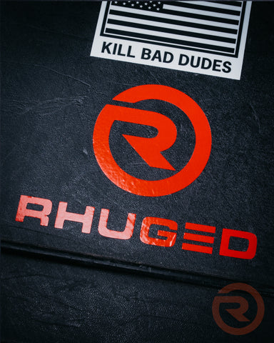 Rhuged Sticker