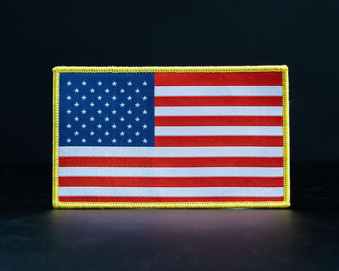 "Woven 3"" x 5"" American Flag"