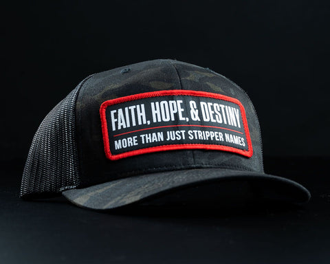 Image of Stripper Name Hat-Black Multicam